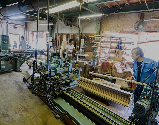 木材加工機の紹介