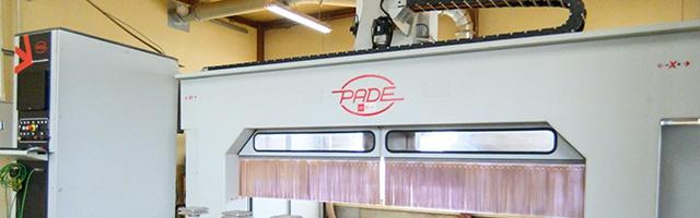 PADE5軸NCルーター